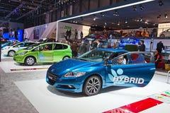 Honda-Jazz-Mischling lizenzfreie stockbilder