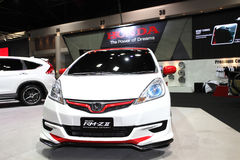 Honda Jazz with Modulo RM-Z II Kit on display Stock Photography
