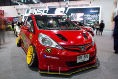 Honda Jazz On Thailand International Motor Expo Royalty-vrije Stock Foto