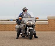 Honda jeździec i goldwing Zdjęcia Royalty Free