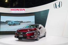 Honda klarhet Fuel Cell på Kuala Lumpur Motor Show royaltyfria bilder