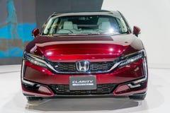 Honda klarhet Fuel Cell på Kuala Lumpur Motor Show royaltyfria foton