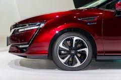 Honda klarhet Fuel Cell på Kuala Lumpur Motor Show arkivfoton