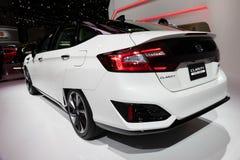 Honda klarowności ogniwa paliwowego samochód fotografia stock