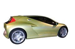 Honda Konzept-Mischling Lizenzfreie Stockfotos