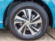 Honda a libéré la roue photographie stock
