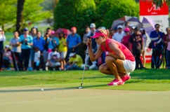 Honda LPGA Thailand 2016. CHONBURI - FEBRUARY : Lexi Thompson of USA in Honda LPGA Thailand 2016 at Siam Country Club, Pattaya Old Course on February 27, 2016 in Stock Photo
