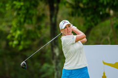 Honda LPGA Thailand 2015. CHONBURI - MARCH 1: Cristie Kerr of USA in  Honda LPGA Thailand 2015 at Siam Country Club, Pattaya Old Course on March 1, 2015 in Royalty Free Stock Photography