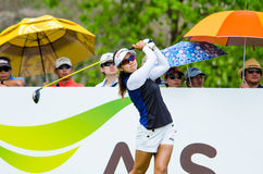 Honda LPGA Thailand 2015. CHONBURI - MARCH 1: Jenny Shin of South Korea in Honda LPGA Thailand 2015 at Siam Country Club, Pattaya Old Course on March 1, 2015 in Stock Photo