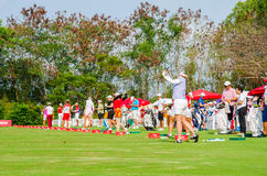 Honda LPGA Thailand 2015 Royalty Free Stock Images
