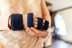 Honda medicinal del brazo imágenes de archivo libres de regalías