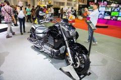 Honda motocykl Obrazy Royalty Free