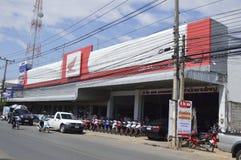 Honda motocyklu sklep w Thailand Zdjęcia Stock