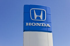 Honda Motor Co. Logo and Sign I Royalty Free Stock Image