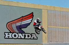Honda-Motorco , Ltd en Kerry Industrial Co Stock Afbeeldingen