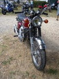 Honda motorcycle Royalty Free Stock Photos