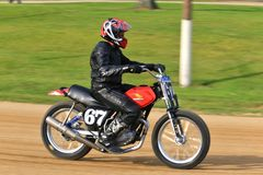 Honda Motorcycle Royalty Free Stock Images