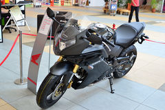 Honda motorcycles on display Stock Photography
