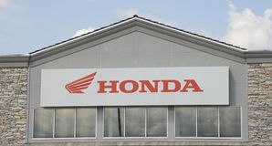 Honda Motorcykel Korporation Royaltyfri Foto