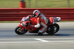 Honda-Motorrad Laufen Stockfotos