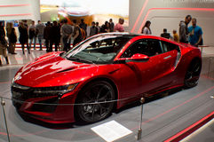 Free Honda NSX At Geneva 2016 Royalty Free Stock Photography - 69415757
