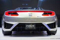 Honda NSX Concept on display Royalty Free Stock Images