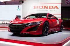 Honda NSX in Genève Royalty-vrije Stock Foto's