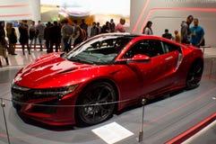 Honda NSX in Genève 2016 Royalty-vrije Stock Fotografie