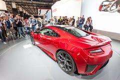Honda NSX at the IAA 2015 Stock Photo