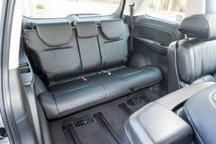 Honda Odyssey 2018 bakre Seat royaltyfria foton