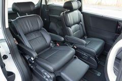 Honda Odyssey 2018 mellersta Seat royaltyfri fotografi