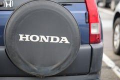 Honda opona, Honda CRV fotografia stock