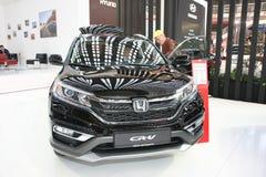 Honda på den Belgrade Car Show Royaltyfria Bilder