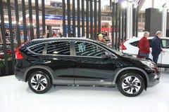 Honda på den Belgrade Car Show Fotografering för Bildbyråer