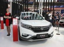 Honda på den Belgrade Car Show Royaltyfri Bild