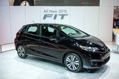 Honda past in Chicago Auto toont Stock Foto's