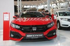 Honda przy Belgrade car show Obraz Royalty Free