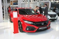 Honda przy Belgrade car show Zdjęcia Royalty Free