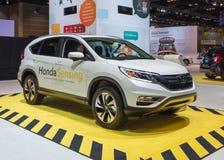 Honda 2015 que detecta CR-V Fotos de archivo