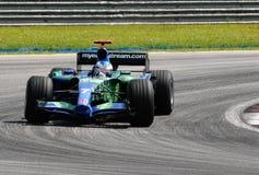Honda Racing F1 Team RA107 Jenson Button British G stock photo