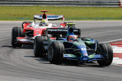 Honda Racing F1 Team RA107 Rub stock photo