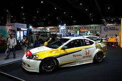 Honda-Rennwagen lizenzfreie stockfotografie