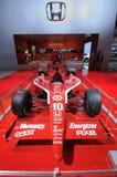 Honda-Rennwagen Stockfotos