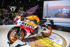 Honda repsol Royalty Free Stock Photos