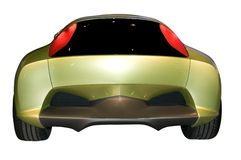 Honda's Concept Hybrid, Rear View Royalty Free Stock Images
