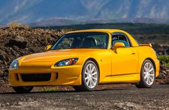Honda S2000. A photograph of a 2007 Honda S2000 sports car stock photo