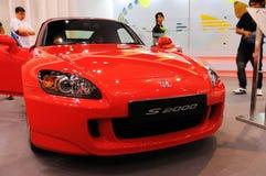 Honda S2000 no indicador Imagens de Stock