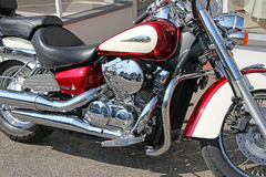 Honda shadow chopper bike Stock Photo