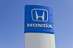 Honda silnik Co Logo i znak Ja Obraz Royalty Free