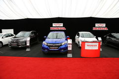 Honda stand Royalty Free Stock Photography